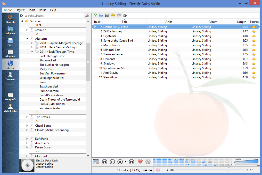 how to delete songs in amplitube song player